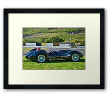 1962 Kurtis Aguila Race Car 'Profile' Framed Print