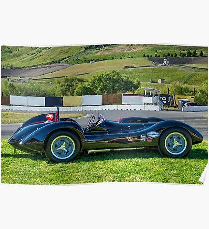 1962 Kurtis Aguila Race Car 'Profile' Poster
