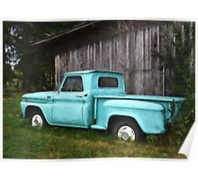 To Be Country - Vintage Truck Art Poster