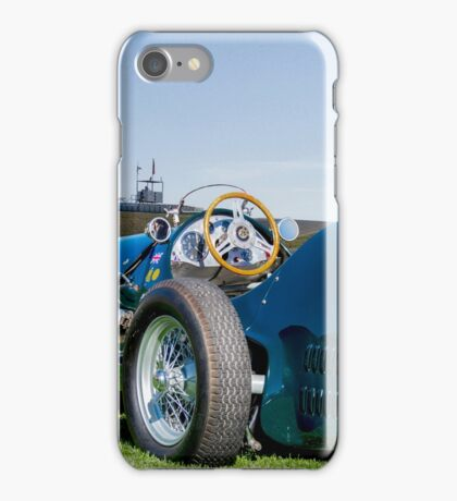 1962 HWM Formula 1 Gran Prix Race Car iPhone Case/Skin