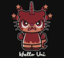 Evil Hello Uni by piercek26