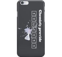 Chemists Provide Solutions iPhone Case iPhone Case/Skin