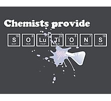 Chemists Provide Solutions Photographic Print
