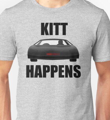 Knight Rider - Kitt Happens Unisex T-Shirt