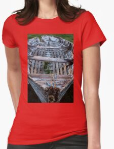 In decay. Womens Fitted T-Shirt