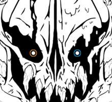 GASTER - God of Permadeath (LINED - BLACK) Sticker