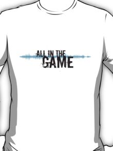 """All in the Game - """"The Wire"""" - Black T-Shirt"""