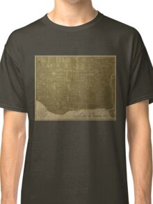 Toronto, Vintage City Map c. 1908 Classic T-Shirt