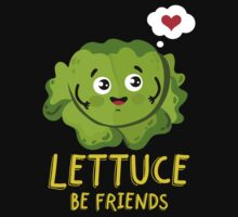 Lettuce be Friends One Piece - Long Sleeve