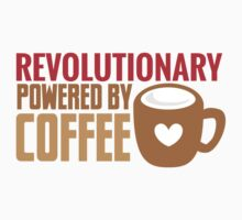 REVOLUTIONARY powered by coffee One Piece - Long Sleeve
