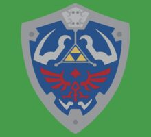 Legend Of Zelda -Hyrule Shield by Menqa