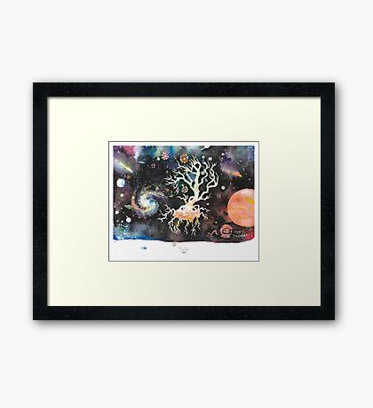 Transplant Framed Print
