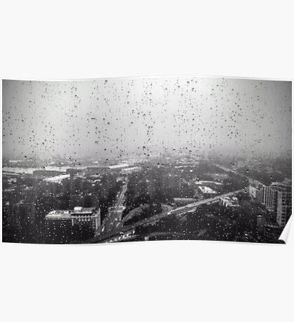 Rain over the City Poster