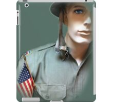 To Serve God and Country iPad Case/Skin