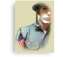 To Serve God and Country Canvas Print