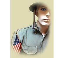 To Serve God and Country Photographic Print