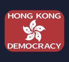 Democracy Hong Kong Flag Kids Clothes