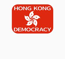 Democracy Hong Kong Flag Unisex T-Shirt