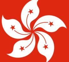 Democracy Hong Kong Flag Sticker