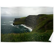 The Wall (Cliffs of Moher)  Poster