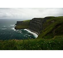 The Wall (Cliffs of Moher)  Photographic Print