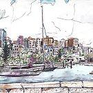 Elizabeth Bay, from Beare Park by John Douglas