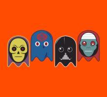The Ghosts of Evil Men Kids Tee