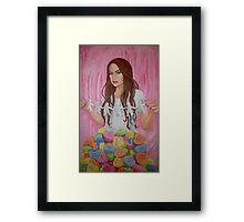 Danielle's Valentine Framed Print