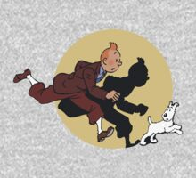 Tin tin & Snowy One Piece - Short Sleeve