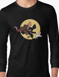 Tin tin & Snowy Long Sleeve T-Shirt