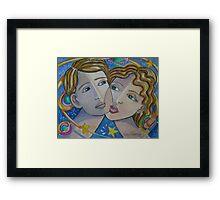 A Farewell Kiss Framed Print