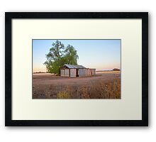 The Old Farm Shed... Framed Print
