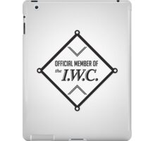 IWC Union Member iPad Case/Skin