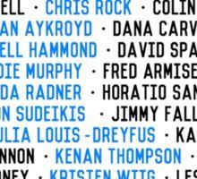 SNL Cast Members Sticker