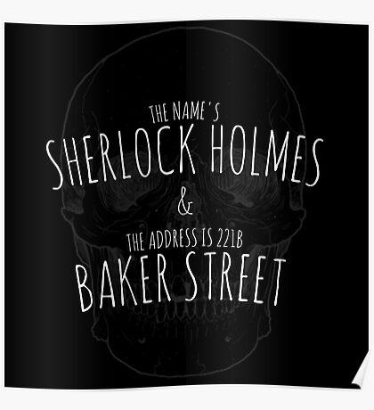 Sherlock Holmes 221B  Poster