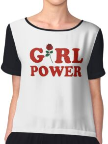 Girl Power Chiffon Top
