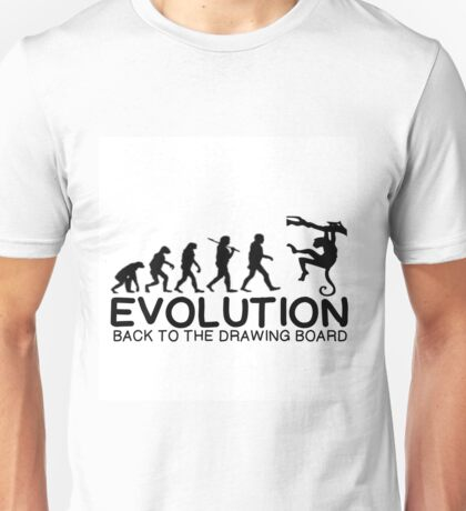 EVOLUTION - BACK TO THE DRAWING BOARD Unisex T-Shirt
