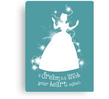 A Dream is a Wish... Canvas Print