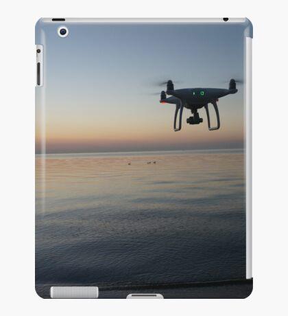 Drone sunset iPad Case/Skin