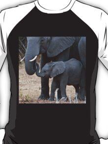 Love & Trust - Mother & Baby African Elephants T-Shirt