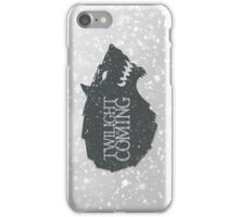 Twilight is Coming iPhone Case/Skin