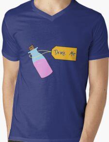 Drink Me Mens V-Neck T-Shirt