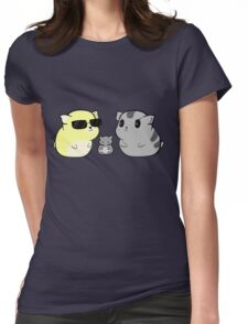 Hamsters DaveKat Womens Fitted T-Shirt