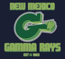 New Mexico GAMMA RAYS Kids Tee