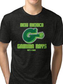 New Mexico GAMMA RAYS Tri-blend T-Shirt