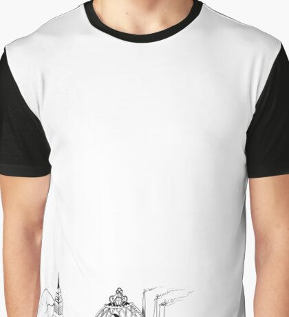 The Great Gatsby Illustration Graphic T-Shirt