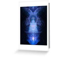 Deimatic Deity Greeting Card
