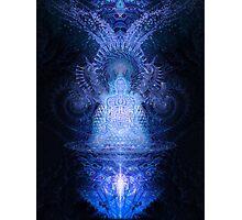 Deimatic Deity Photographic Print