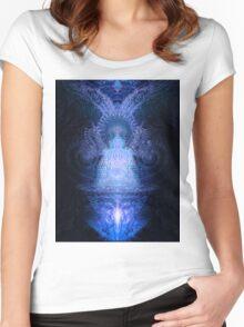 Deimatic Deity Women's Fitted Scoop T-Shirt