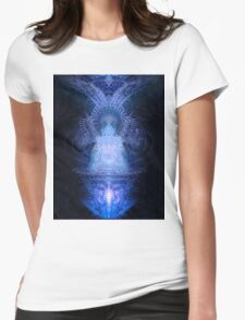 Deimatic Deity Womens Fitted T-Shirt